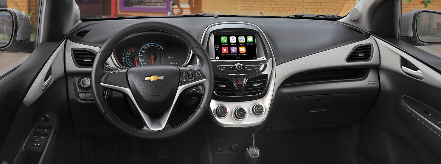 Chevrolet Spark 2017 en México Android Auto Apple CarPlay