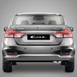Suzuki Ciaz RS 2017 nuevos detalles posterior
