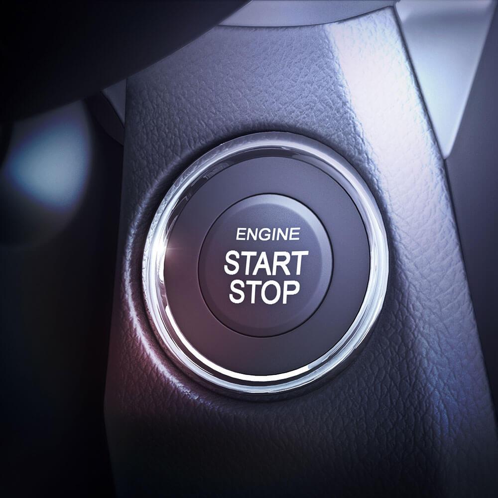 Suzuki Ciaz RS 2017 Botón Start Stop
