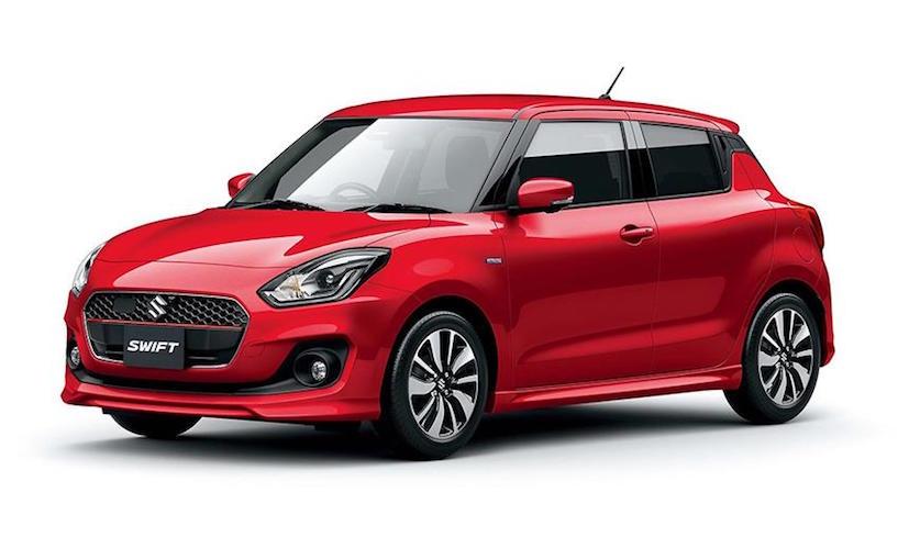 Nuevo Suzuki Swift 2018 color rojo