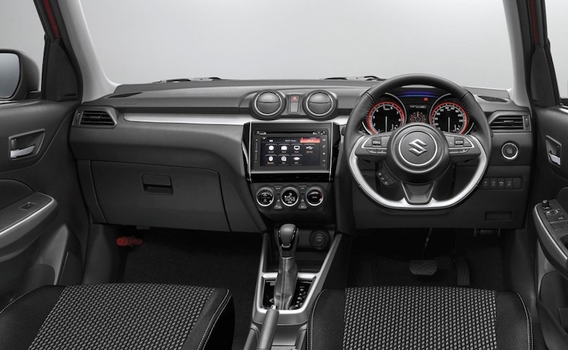 Nuevo Suzuki Swift 2018 interior pantalla touch