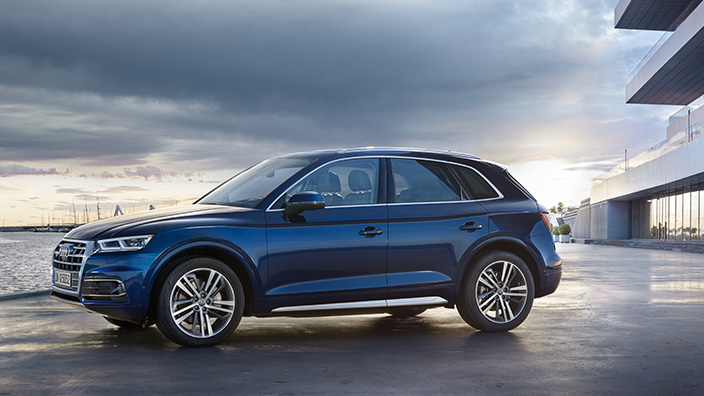 Audi Q5 2018 en México color azul