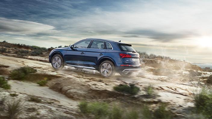 Audi Q5 2018 en México en terreno duro