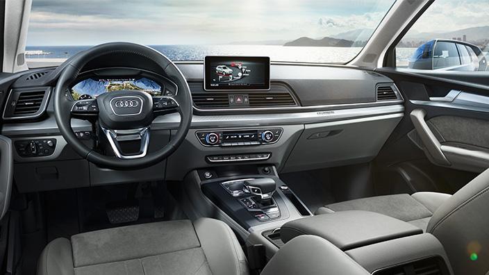 Audi Q5 2018 En M Xico Interior Pantalla A Color Touch Autos Actual M Xico