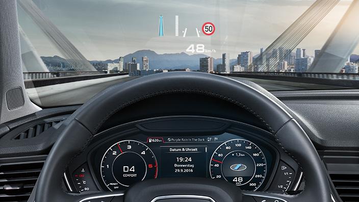 Audi Q5 2018 en México tacómetro pantalla LCD