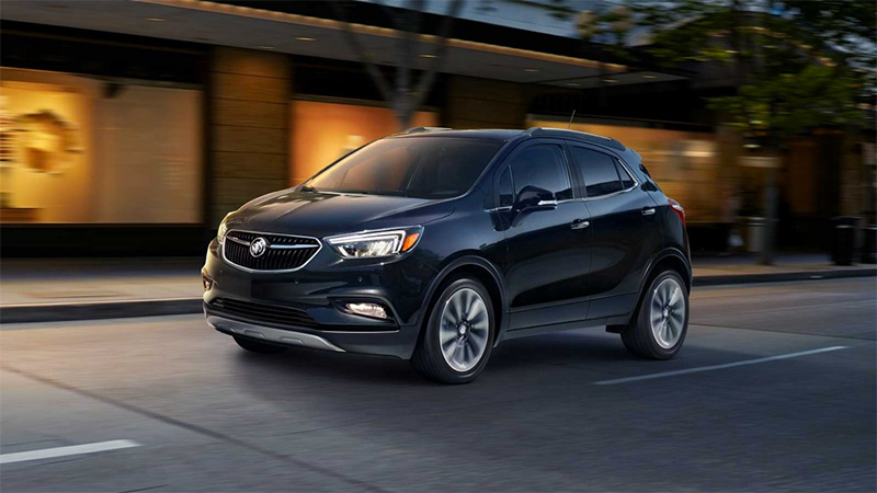 Buick Encore 2017 en México color negro