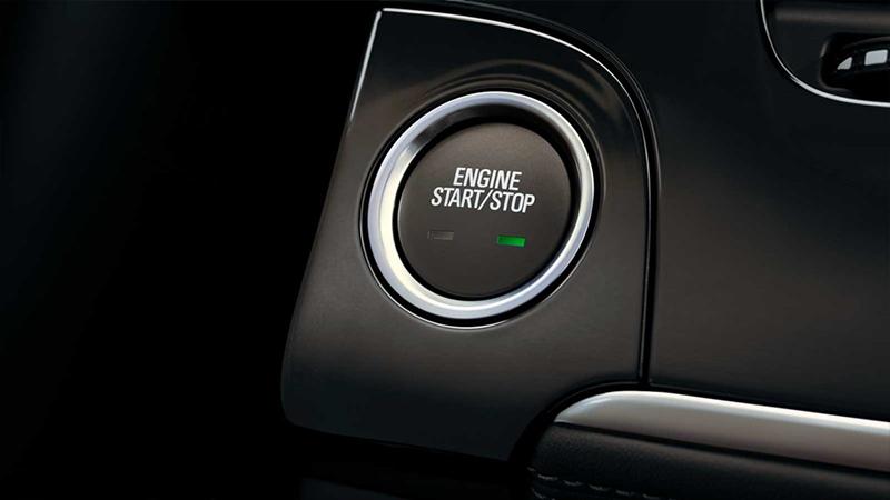 Buick Encore 2017  en México botón de encendido sin llave