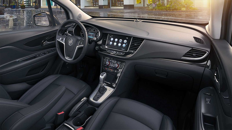 Buick Encore 2017  en México interiores pantalla touch de 8 pulgadas con Apple CarPlay y Android Auto