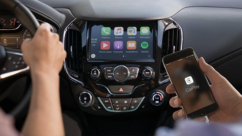 Chevrolet Cruze 2017 con Apple CarPlay y Android Auto