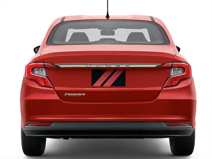 Dodge Neon 2017 en México posterior cajuela