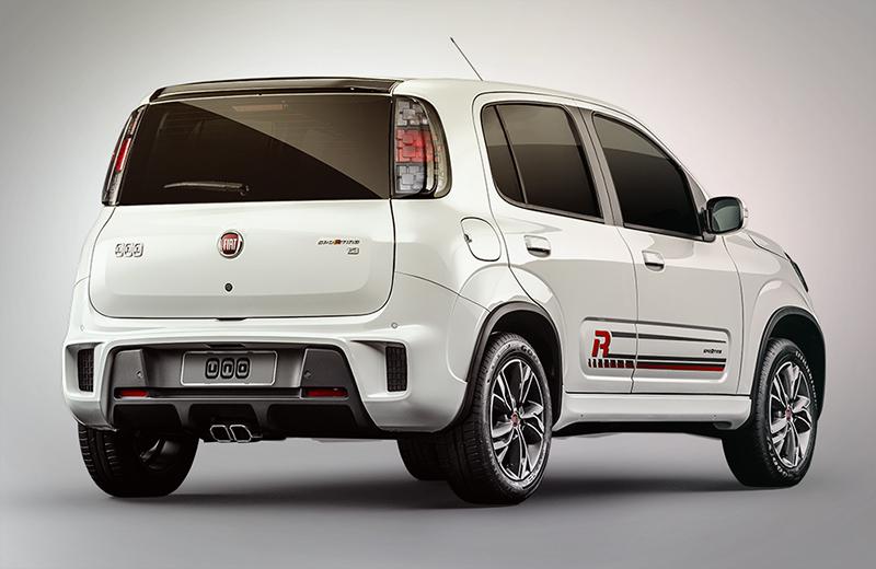 Nuevo Fiat Uno 2017 en México Sporting posterior