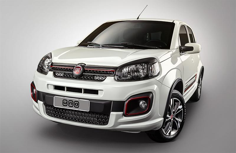Nuevo Fiat Uno 2017 en México Sporting de frente