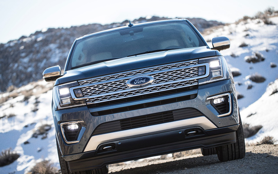 Ford Expedition 2018 nuevo frente