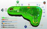 Fórmula 1 Gran Premio de México 2017 Mapa Plano de gradas con perfiles de experiencias
