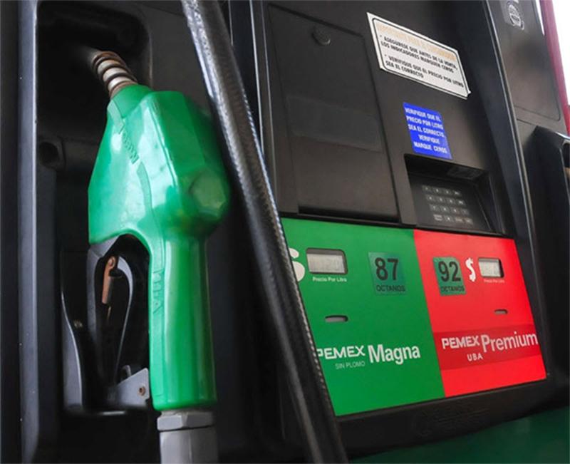 Inicia precio máximo de gasolina por región hoy 21 de febrero