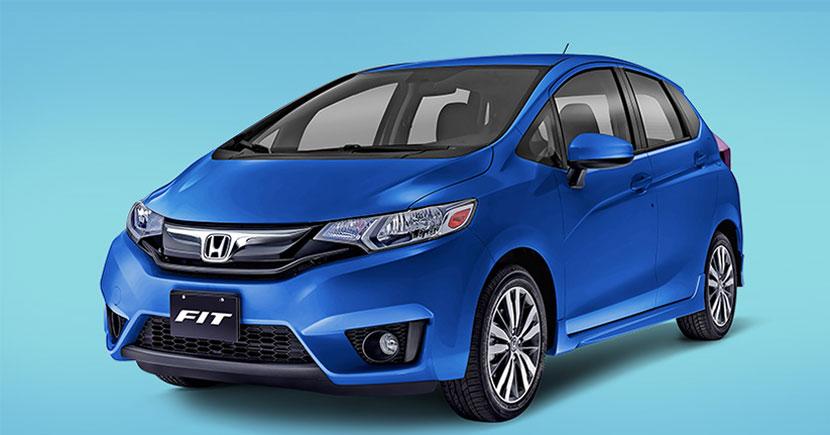 Honda Fit 2017 color Azul deportivo desde todas sus versiones