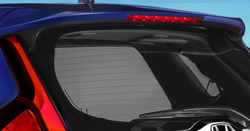 Honda Fit 2017 spoiler con luz de freno