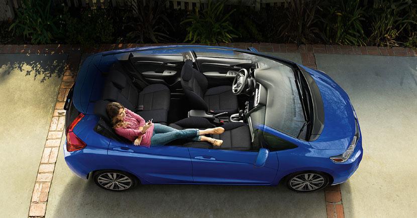 Honda Fit 2017 en México espacio interior optimizado