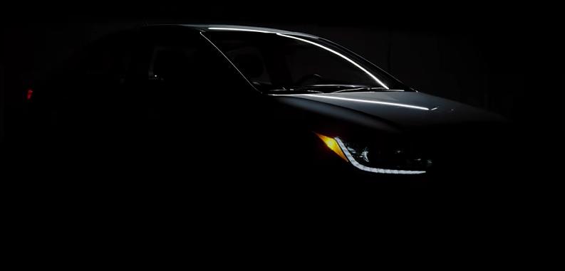 Nuevo Hyundai Accent 2018 frente nuevos faros LED