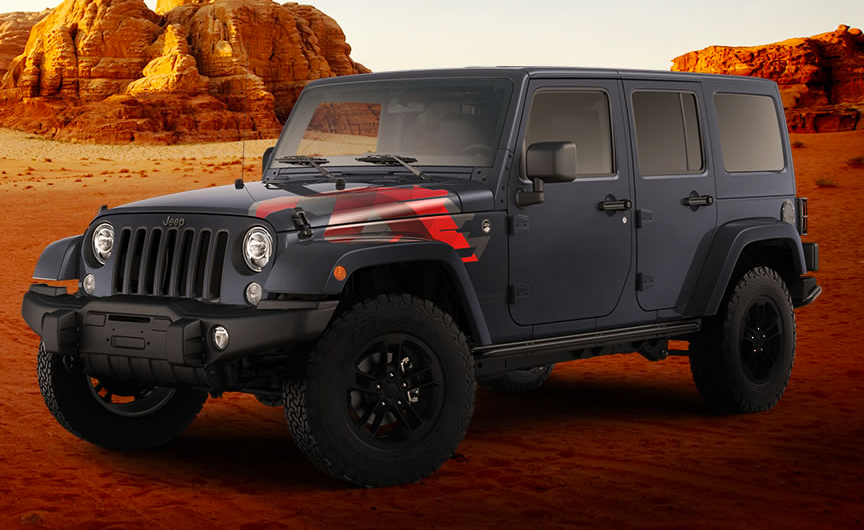 Jeep Wrangler Unlimited Sahara Winter Edition 2017 en México