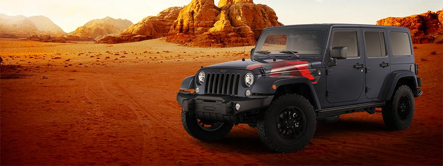 Jeep Wrangler Unlimited Sahara Winter Edition 2017 en México  exterior