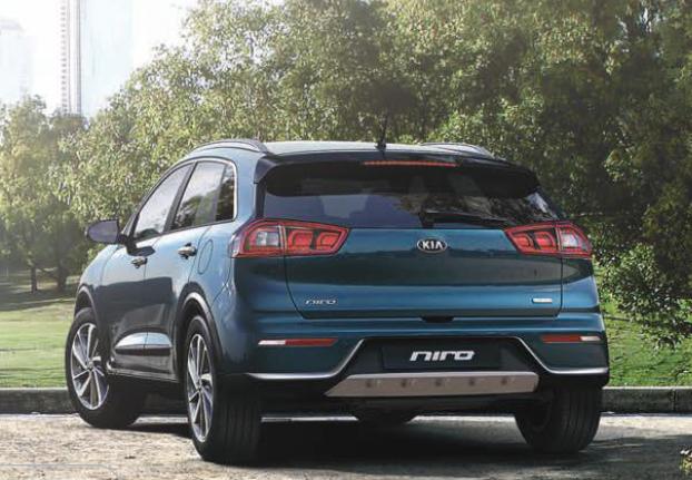 Kia Niro híbrido en México interior posterior