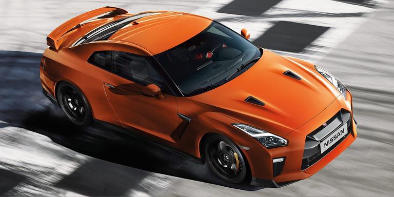 Nissan GT-R 2017 en México desde 2.6 millones color naranja