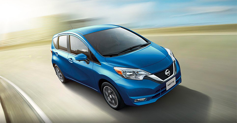 Nissan Note 2017 en México color azul