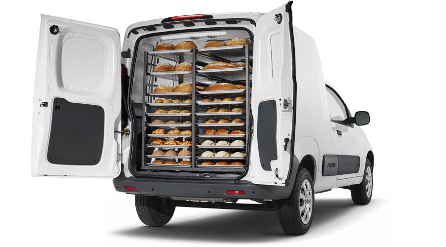 RAM ProMaster Rapid 2017 en México  cabina amplia con pan