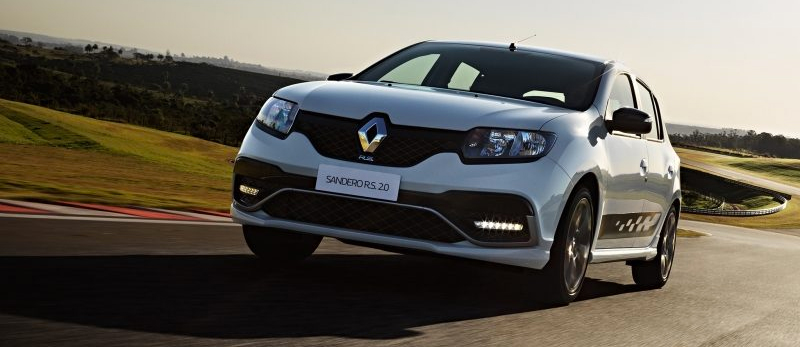 Renault Sandero RS 2017 en México color blanco