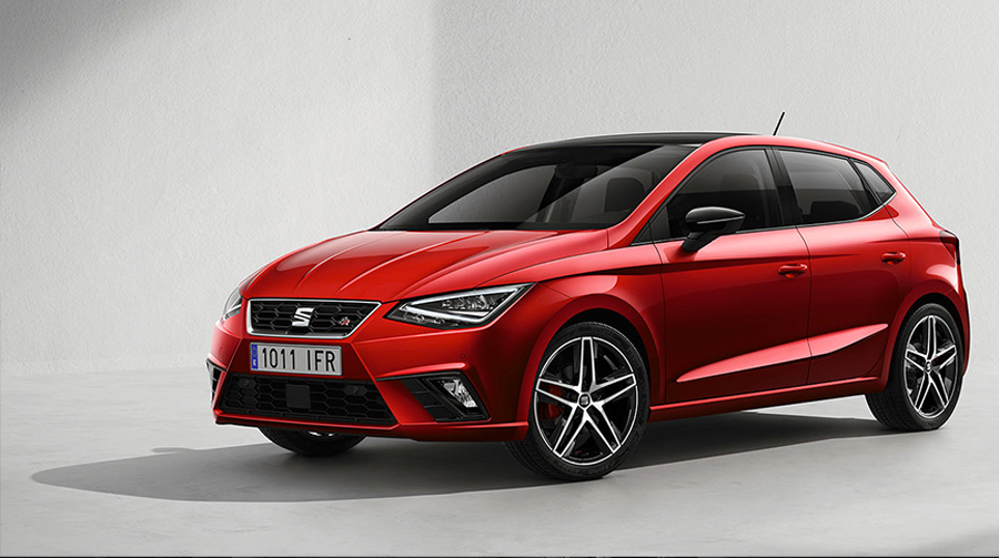 seat ibiza 2018 fr color rojo autos actual m xico. Black Bedroom Furniture Sets. Home Design Ideas