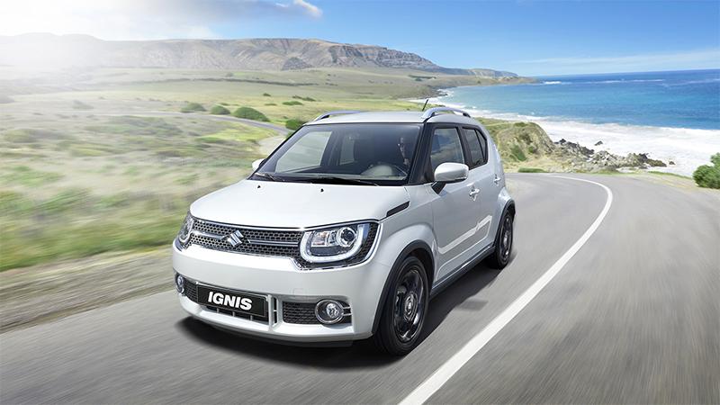 Suzuki Ignis 2017 México en carretera