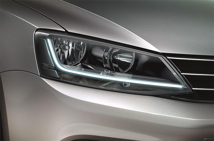 Volkswagen Jetta Sportline 2017 nuevos faros LED
