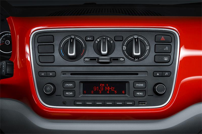 Volkswagen up! 2017 en México Sistema de audio