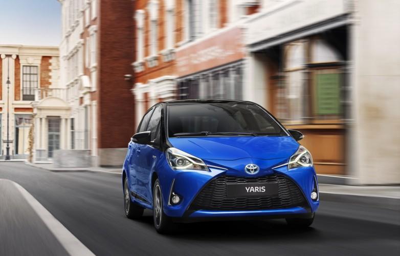 Toyota Yaris 2018 nuevo frente