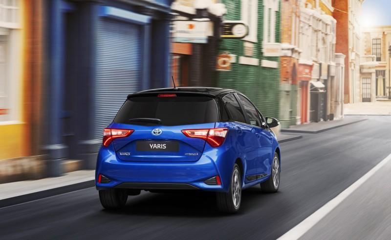Toyota Yaris 2018 nueva parte posterior