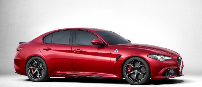 Alfa Romeo Giulia Quadrifoglio Verde 2017 lateral