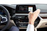 BMW Serie 5 2018 en México gestos con pantalla touch