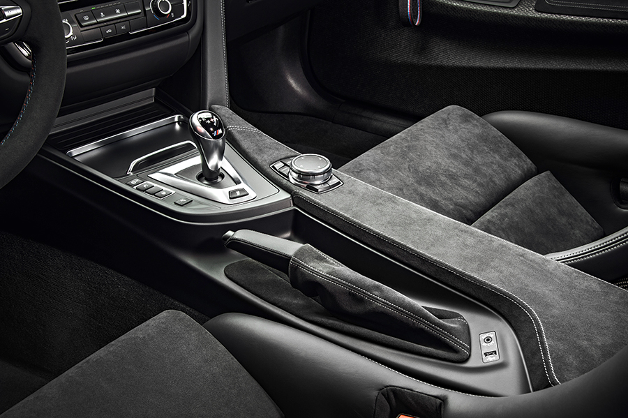 BMW M4 GTS 2017 en México interiores con acabados premium