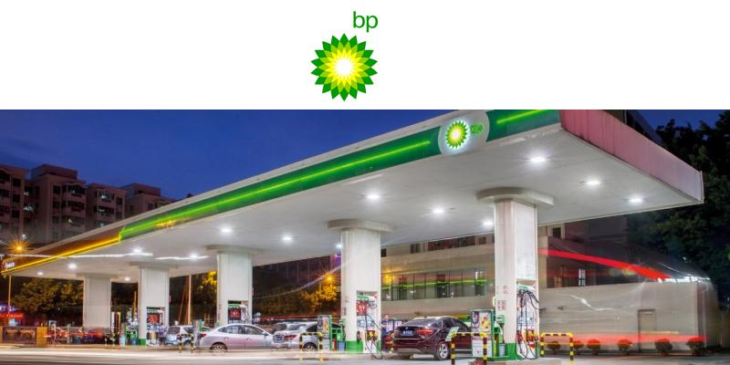 Británica BP gasolinera en México