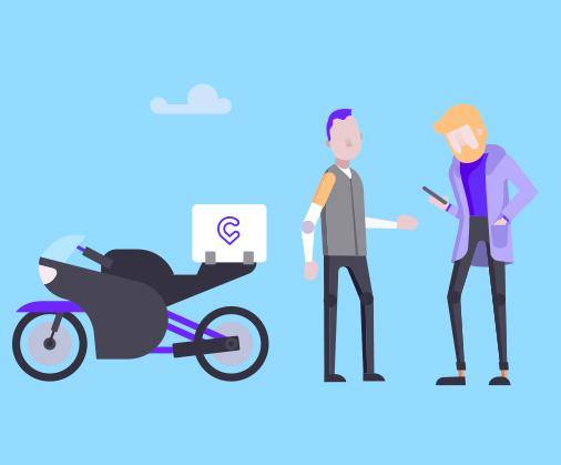 Cabify Express CDMX Mensajería en Motocicleta