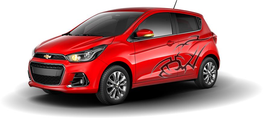 Chevrolet Spark Ink 2017 México, edición especial equipada personalizada