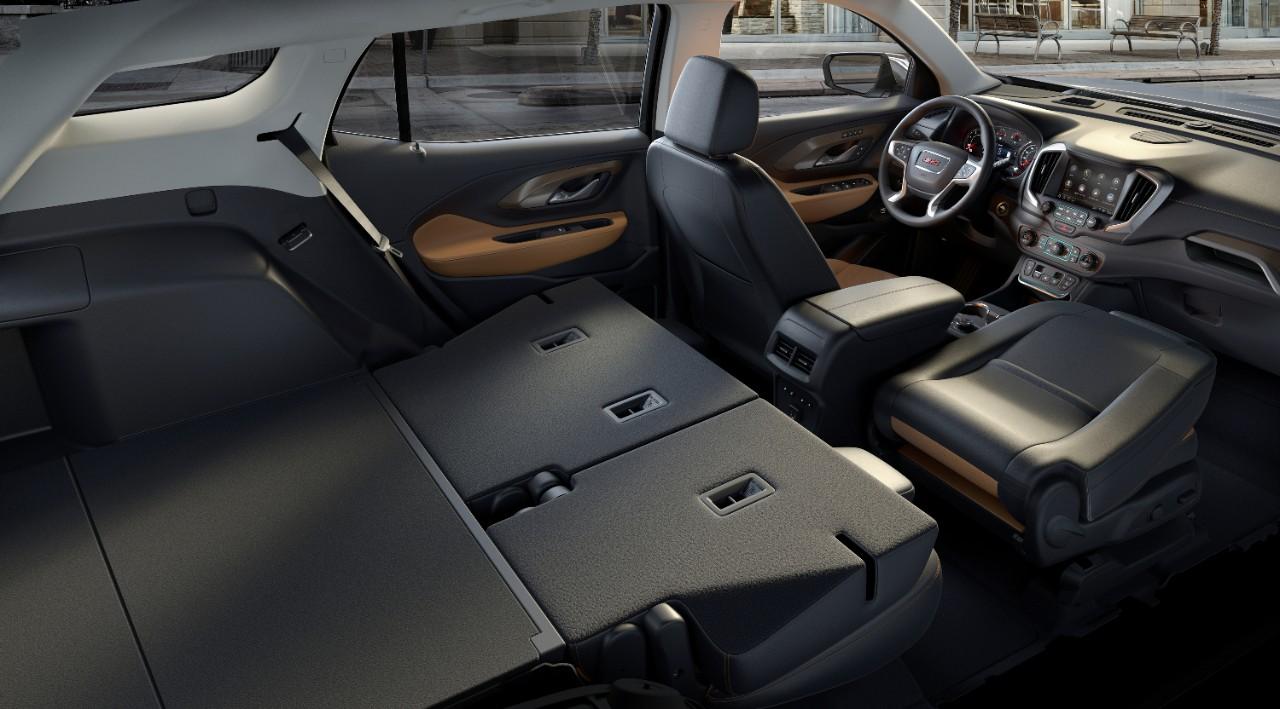 GMC Terrain 2018 interior asientos reclinables