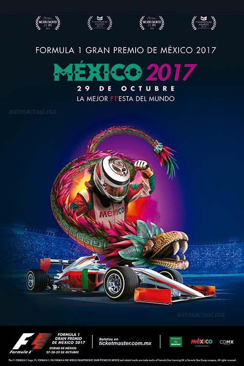 Gran Premio Fórmula 1 México 2017 póster oficial