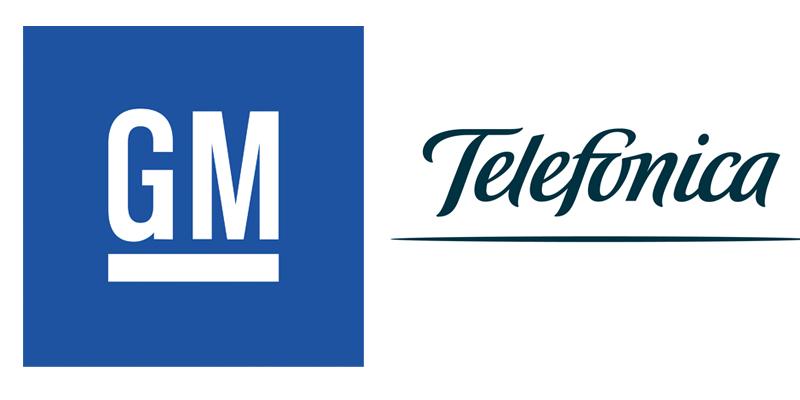 General Motors México y Telefónica logo 4G LTE