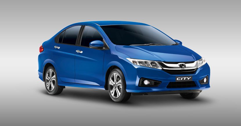 Honda City 2017 en México color azul sport