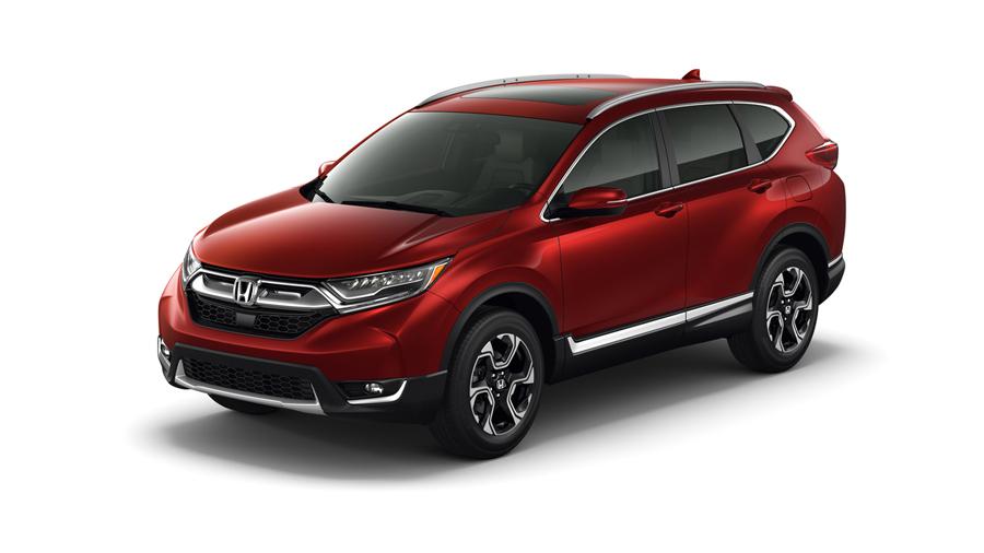 Honda CR-V 2017 México rojo frente nuevo