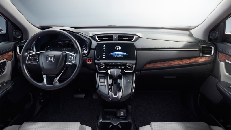 Honda CR-V 2017 México rojo interiores pantalla touch, Android Auto,  Apple CarPlay