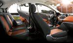 Hyundai Grand i10 México interior con asientos bicolor premium