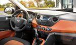 Hyundai Grand i10 México interior acabados bicolor
